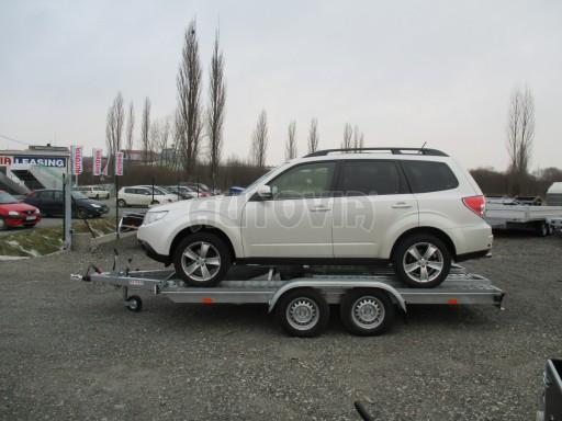 Přívěs pro přepravu aut PM 2,7T 3,95x2,00** č.5