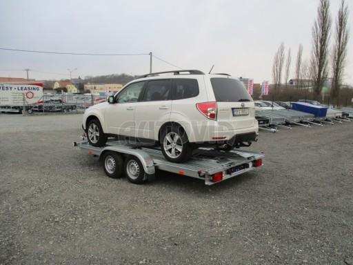 Přívěs pro přepravu aut PM 2,7T 3,95x2,00** č.2