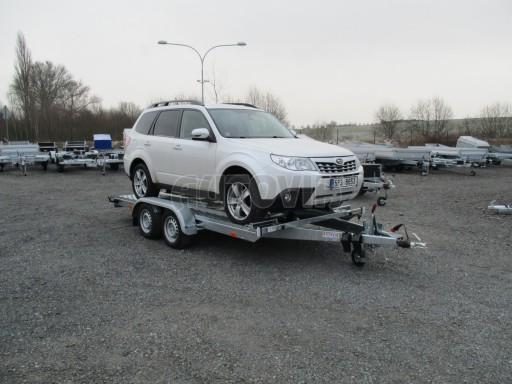 Přívěs pro přepravu aut PM 2,7T 3,95x2,00** č.1