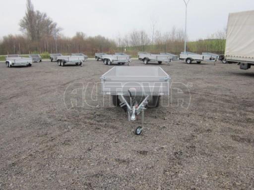 Vlek za auto - ZV 22 1,3T B1 2,50x1,50/0,35 rohové sloupky č.2