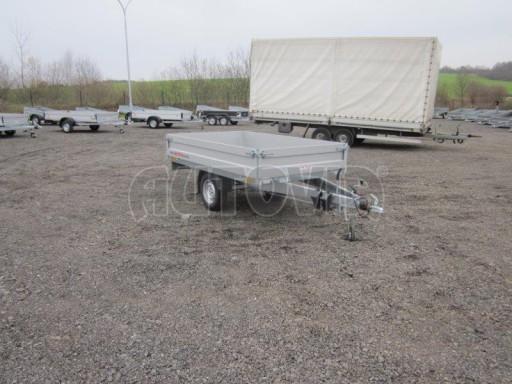 Vlek za auto - ZV 22 1,3T B1 2,55x1,50/0,35 rohové sloupky** č.3
