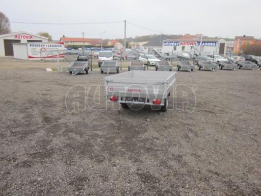 Vlek za auto - ZV 22 1,3T B1 2,50x1,50/0,35 rohové sloupky č.4