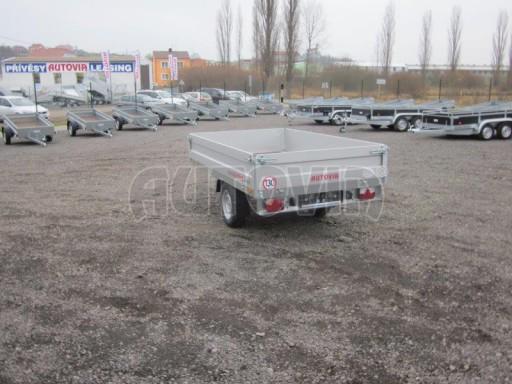 Vlek za auto - ZV 22 1,3T B1 2,55x1,50/0,35 rohové sloupky** č.5
