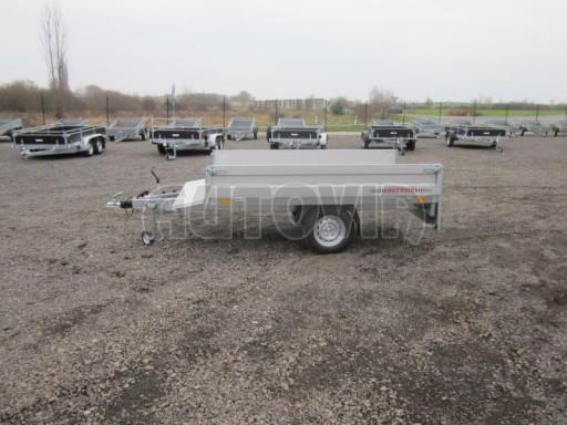 Vlek za auto - ZV 22 1,3T B1 2,50x1,50/0,35 rohové sloupky č.8
