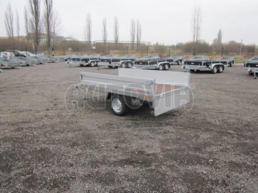 Vlek za auto - ZV 22 1,3T B1 2,50x1,50/0,35 rohové sloupky č.9