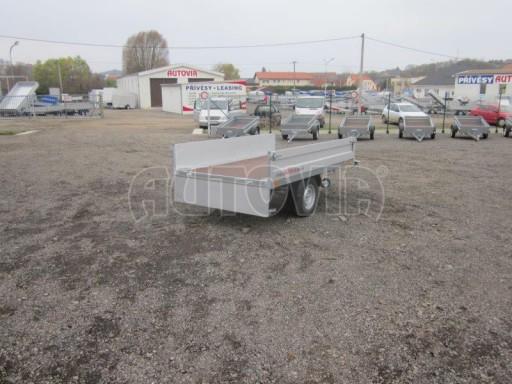 Vlek za auto - ZV 22 1,3T B1 2,55x1,50/0,35 rohové sloupky** č.10