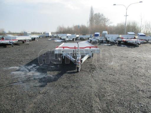 Plato pro převoz velkých vozidel JMB 3,5T 5,15x2,09 ALU č.2