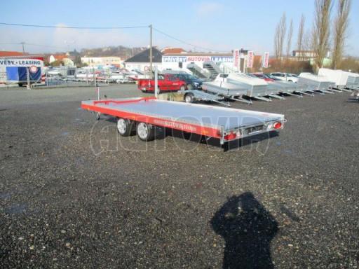 Plato pro převoz velkých vozidel JMB 3,5T 5,15x2,09 ALU č.5