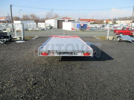 Plato pro převoz velkých vozidel JMB 3,5T 5,15x2,09 ALU č.6
