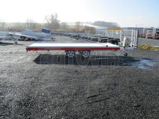 Plato pro převoz velkých vozidel JMB 3,5T 5,15x2,09 ALU č.8