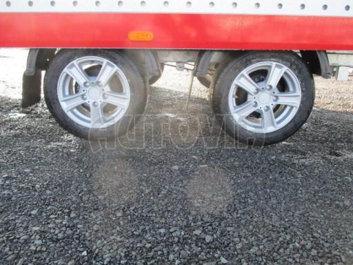 Plato pro převoz velkých vozidel JMB 3,5T 5,15x2,09 ALU č.12