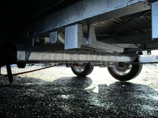 Plato pro převoz velkých vozidel JMB 3,5T 5,15x2,09 ALU č.13