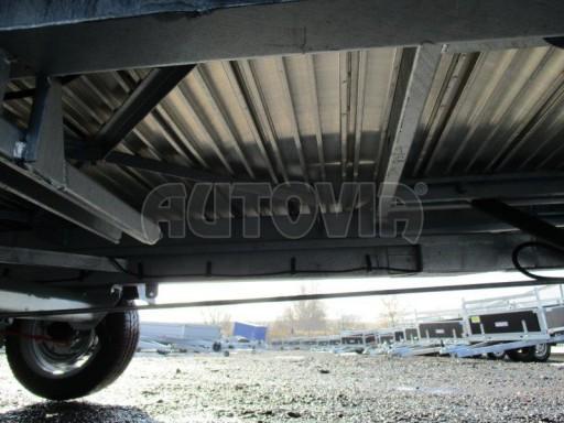 Plato pro převoz velkých vozidel JMB 3,5T 5,15x2,09 ALU č.14