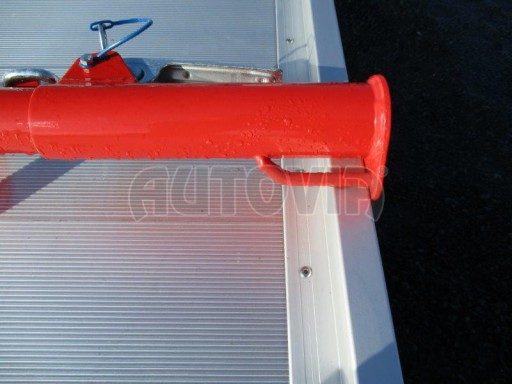 Plato pro převoz velkých vozidel JMB 3,5T 5,15x2,09 ALU č.17
