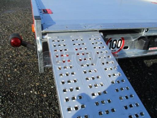Plato pro převoz velkých vozidel JMB 3,5T 5,15x2,09 ALU č.19