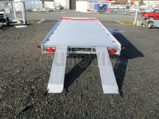 Plato pro převoz velkých vozidel JMB 3,5T 5,15x2,09 ALU č.20