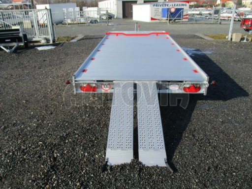Plato pro převoz velkých vozidel JMB 3,5T 5,15x2,09 ALU č.21