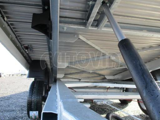 Plato pro převoz velkých vozidel JMB 3,5T 5,15x2,09 ALU č.22