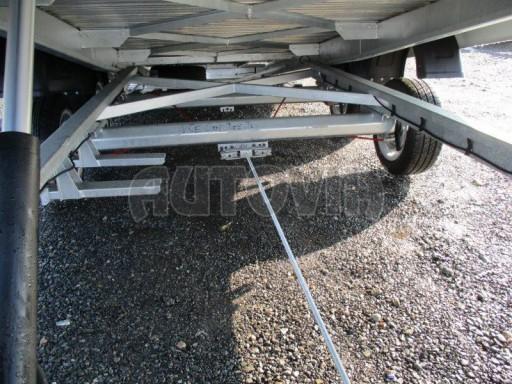 Plato pro převoz velkých vozidel JMB 3,5T 5,15x2,09 ALU č.24