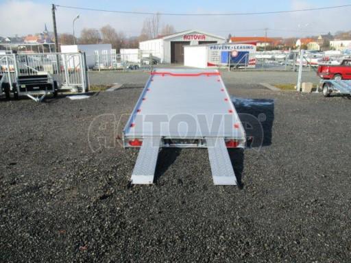 Plato pro převoz velkých vozidel JMB 3,5T 5,15x2,09 ALU č.28