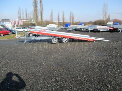 Plato pro převoz velkých vozidel JMB 3,5T 5,15x2,09 ALU č.30