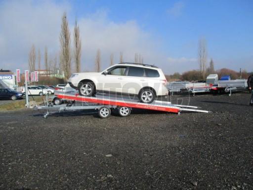 Plato pro převoz velkých vozidel JMB 3,5T 5,15x2,09 ALU č.33