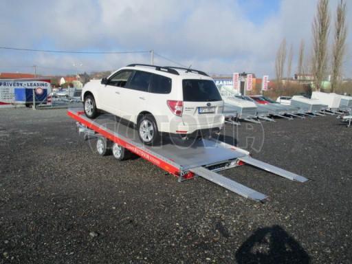 Plato pro převoz velkých vozidel JMB 3,5T 5,15x2,09 ALU č.23
