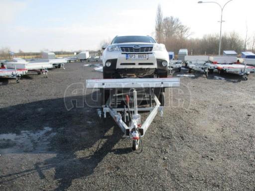 Plato pro převoz velkých vozidel JMB 3,5T 5,15x2,09 ALU č.38