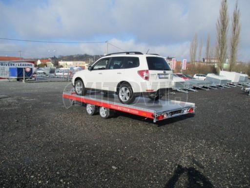 Plato pro převoz velkých vozidel JMB 3,5T 5,15x2,09 ALU č.39
