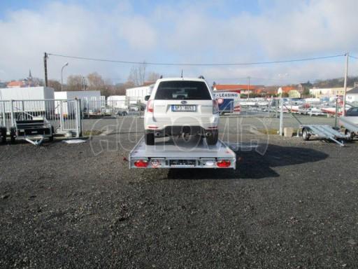 Plato pro převoz velkých vozidel JMB 3,5T 5,15x2,09 ALU č.40