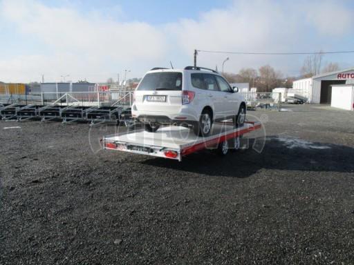 Plato pro převoz velkých vozidel JMB 3,5T 5,15x2,09 ALU č.41