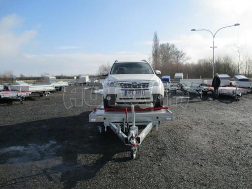 Plato pro převoz velkých vozidel JMB 3,5T 5,15x2,09 ALU č.44