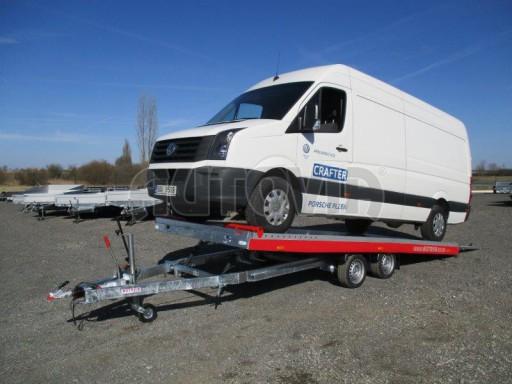 Plato pro převoz velkých vozidel JMB 3,5T 5,55x2,09 č.1