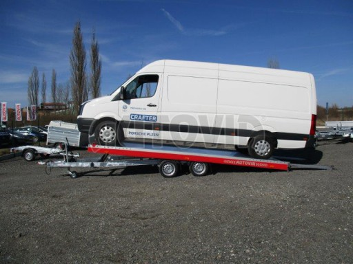 Plato pro převoz velkých vozidel JMB 3,5T 5,55x2,09 č.2