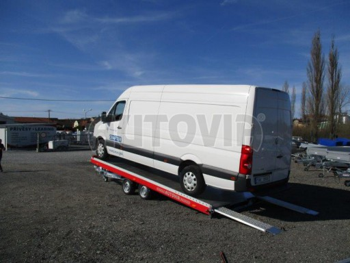 Plato pro převoz velkých vozidel JMB 3,5T 5,55x2,09 č.3