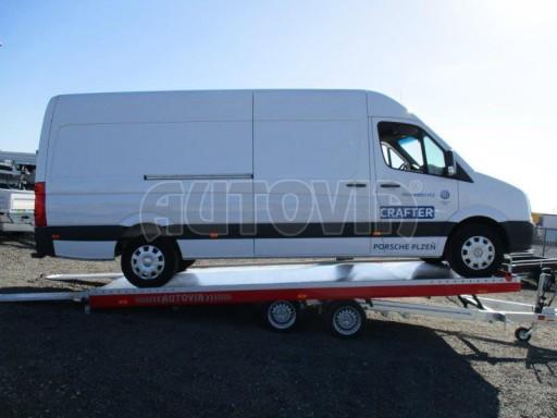 Plato pro převoz velkých vozidel JMB 3,5T 5,55x2,09* č.6