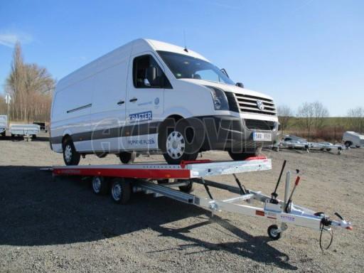 Plato pro převoz velkých vozidel JMB 3,5T 5,55x2,09 č.7