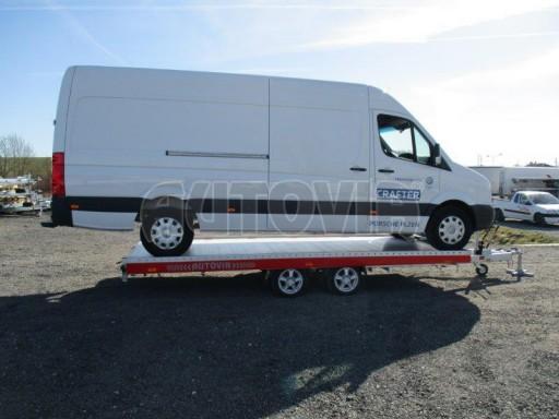 Plato pro převoz velkých vozidel JMB 3,5T 5,15x2,09 ALU č.46