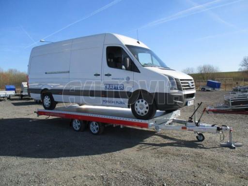 Plato pro převoz velkých vozidel JMB 3,5T 5,15x2,09 ALU č.47
