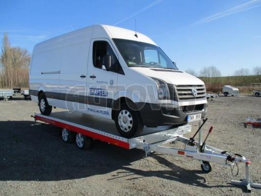 Plato pro převoz velkých vozidel JMB 3,5T 5,15x2,09 ALU č.48
