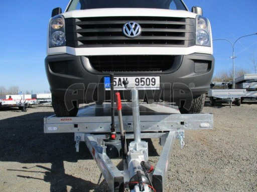 Plato pro převoz velkých vozidel JMB 3,5T 5,15x2,09 ALU č.49