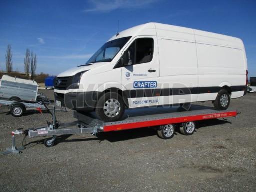 Plato pro převoz velkých vozidel JMB 3,5T 5,15x2,09 ALU č.50