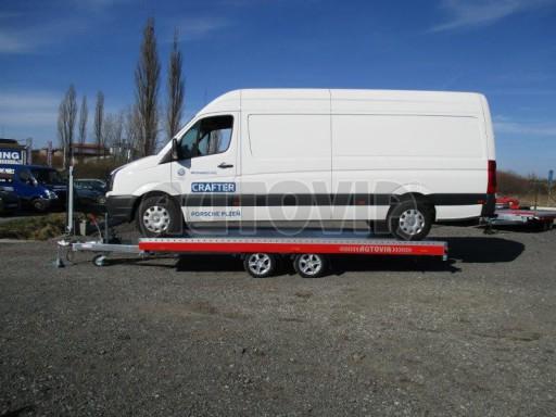 Plato pro převoz velkých vozidel JMB 3,5T 5,15x2,09 ALU č.51