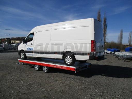 Plato pro převoz velkých vozidel JMB 3,5T 5,15x2,09 ALU č.52
