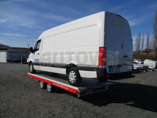 Plato pro převoz velkých vozidel JMB 3,5T 5,15x2,09 ALU č.53
