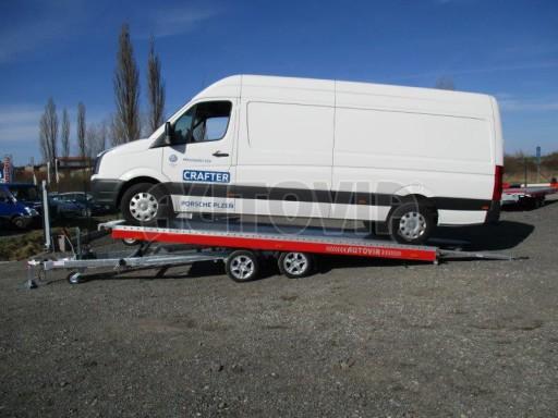 Plato pro převoz velkých vozidel JMB 3,5T 5,15x2,09 ALU č.55