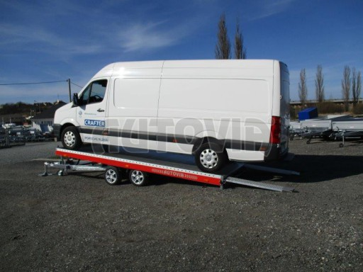 Plato pro převoz velkých vozidel JMB 3,5T 5,15x2,09 ALU č.56