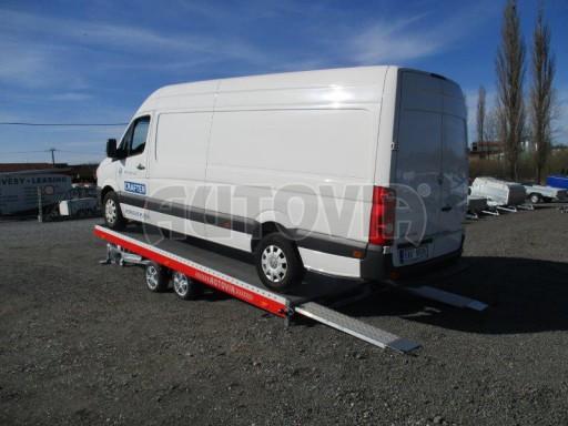 Plato pro převoz velkých vozidel JMB 3,5T 5,15x2,09 ALU č.57