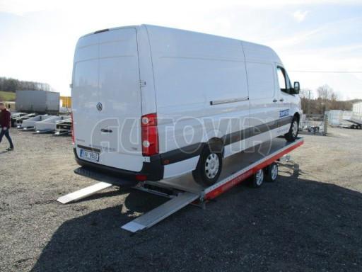 Plato pro převoz velkých vozidel JMB 3,5T 5,15x2,09 ALU č.59