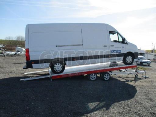 Plato pro převoz velkých vozidel JMB 3,5T 5,15x2,09 ALU č.60
